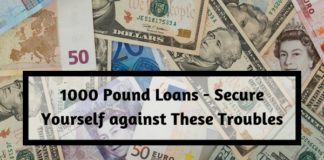 1000 Pound Loans - Secure Yourself against These Troubles