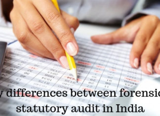 5 Key differences between forensic and statutory audit in India
