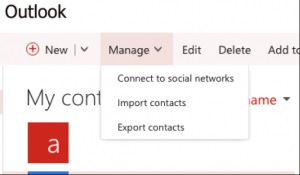 Import Contacts from Office 365 to Outlook 2016: An Instant