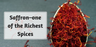 Saffron–one of the Richest Spices