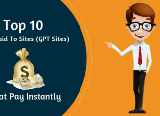Top 10 Get Paid to Sites (GPT Sites) that Pay Instantly