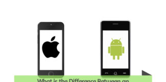 What is the difference between an android and iPhone