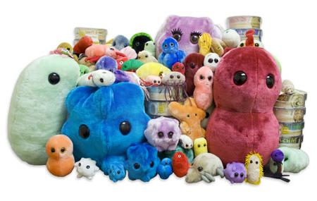 Microbe Plush Toys