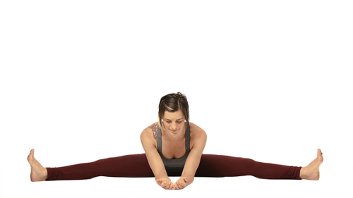 Wide-Legged Seated Forward Bend Pose