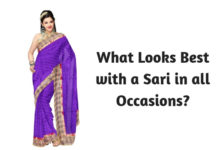 What Looks Best with a Sari in all Occasions