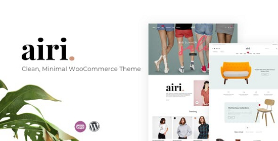 Airi Free WordPress Theme