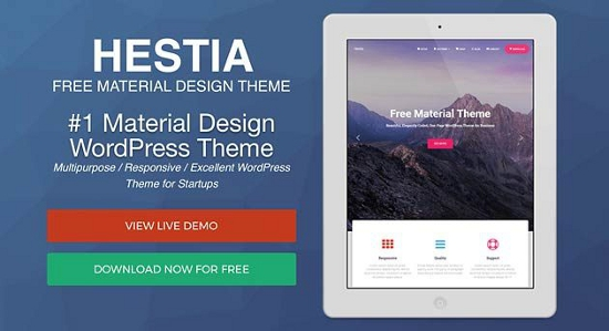 Hestia Airi Free WordPress Theme