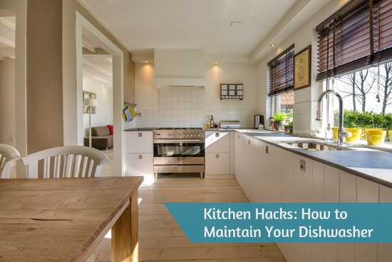 Kitchen Hacks - How to Maintain Your Dishwasher