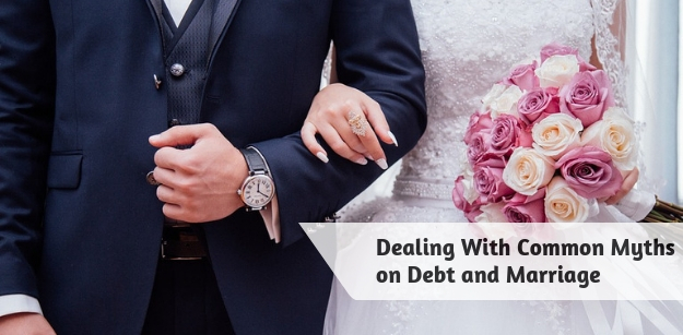 Dealing With Common Myths on Debt and Marriage