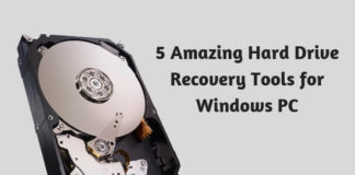5 Amazing Hard Drive Recovery Tools for Windows PC