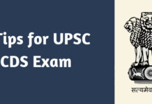 6 Tips for UPSC CDS Exam