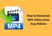 How to Download MP4 Videos from Any Website