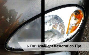 6 Car Headlight Restoration Tips