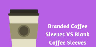 Branded Coffee Sleeves VS Blank Coffee Sleeves