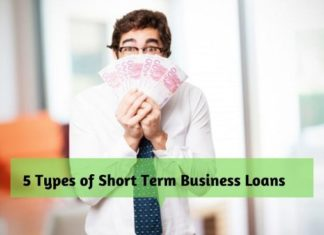 5 Types of Short Term Business Loans