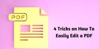 4 Tricks on How To Easily Edit a PDF
