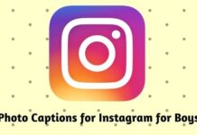 Photo Captions for Instagram for Boys