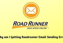 Why am I Getting Roadrunner Email Sending Errors