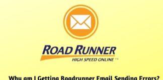 Why am I Getting Roadrunner Email Sending Errors