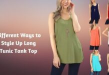 Different Ways to Style Up Long Tunic Tank Top